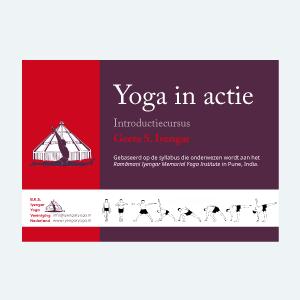 Iyengar Yoga Vereniging Nederland| Cursusboek Yoga in actie